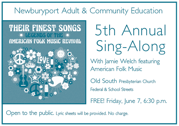 5th Annual Sing-Along